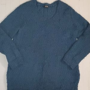 Reaction by Kenneth Cole eyelash knit vneck top